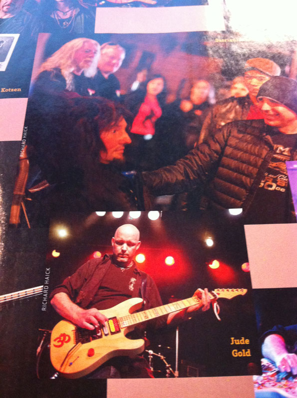 Jude Gold as he appears in January issue og=f Guitar Player magazine