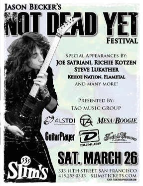 Not Dead Yet Flyer