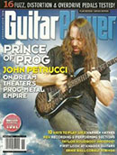 Guitar Player Magazine cover with John Petrucci