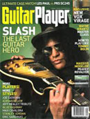Guitar Player Magazine covber with Slash